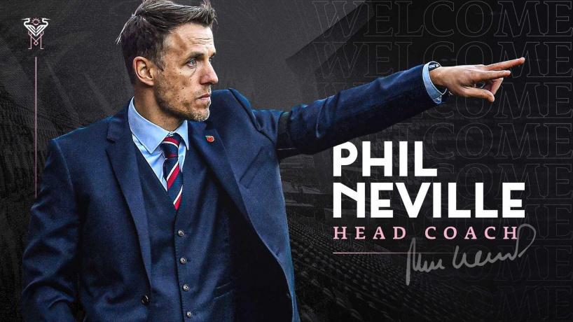 Phil  Neville Miami - Bóng Đá