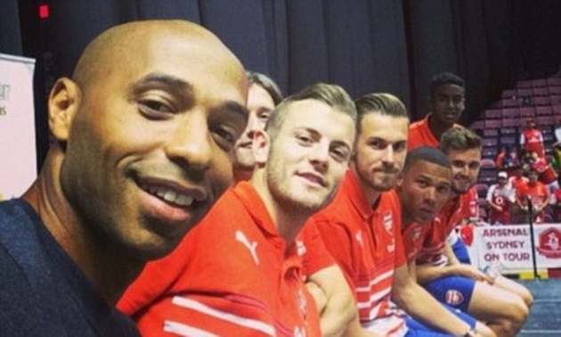 Thierry Henry has already hinted at 'special' plan for Jack Wilshere if he lands new job - Bóng Đá
