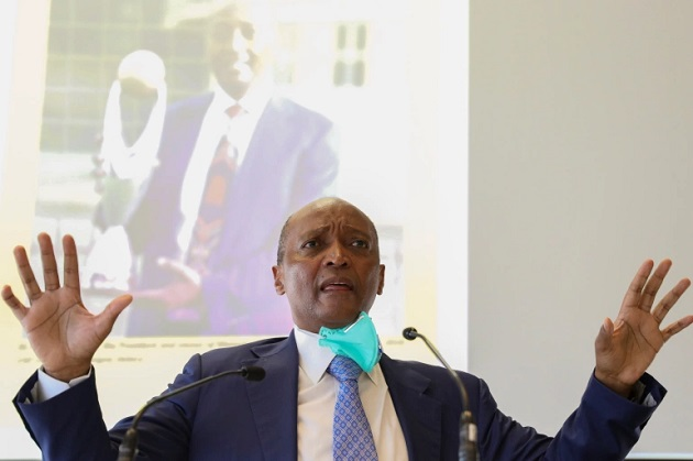 South African billionaire Motsepe elected African football chief - Bóng Đá