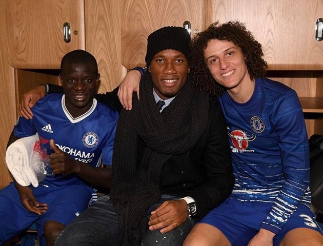 How Didier Drogba inspired N'Golo Kante to reach the Champions League final with Chelsea - Bóng Đá
