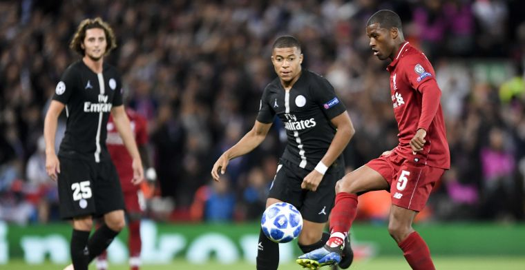Mbappe welcomes Wijnaldum with open arms: