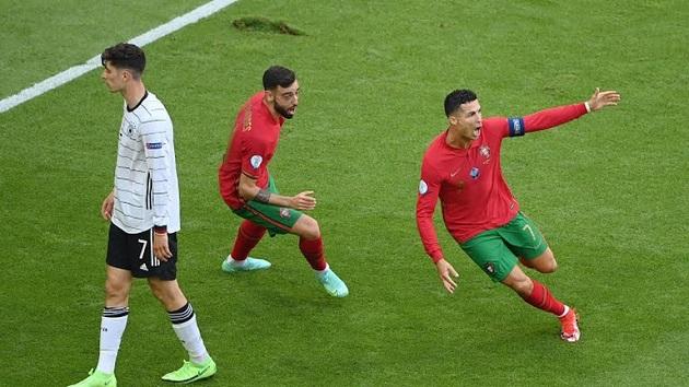 TRỰC TIẾP Bồ Đào Nha 1-0 Đức (H1): Ronaldo mở tỷ số - Bóng Đá