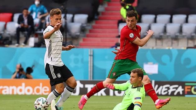 TRỰC TIẾP Bồ Đào Nha 1-0 Đức (H1): Tấn công dồn dập - Bóng Đá