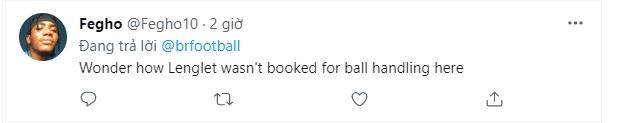 Lenglet 'handball' - Bóng Đá