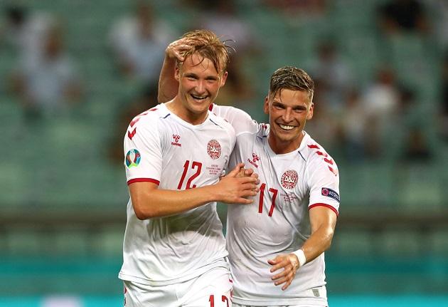 TRỰC TIẾP CH Czech 0-2 Đan Mạch (H1): Dolberg gia tăng cách biệt - Bóng Đá