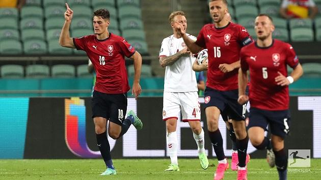 TRỰC TIẾP CH Czech 1-2 Đan Mạch (H2): Schick lập công - Bóng Đá