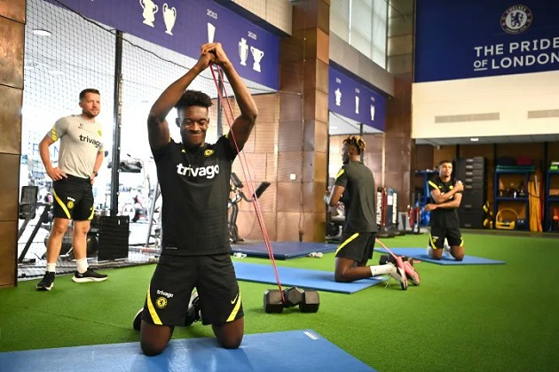 Only four Chelsea players present for first pre-season training on Friday - Bóng Đá