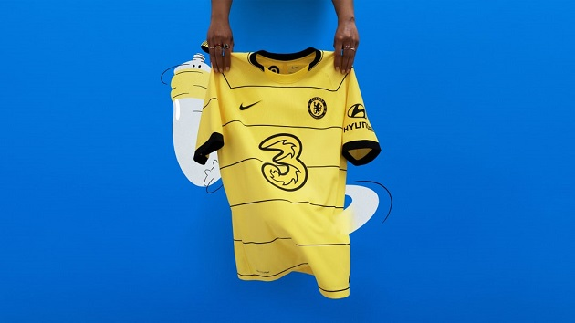 Chelsea unveil new throwback away kit for 2021/22 season - Bóng Đá