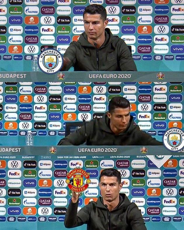 Prodigal son returns: Twitter aces the meme game as Ronaldo joins Man Utd - Bóng Đá