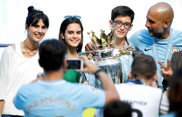 FEVER PITCH Who is Pep Guardiola's daughter Maria and what happened with her and Dele Alli? - Bóng Đá