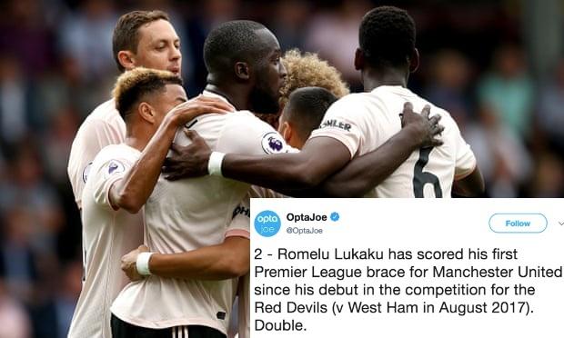 Đây mới là lần thứ 2 Lukaku làm được điều này cho Man Utd! - Bóng Đá