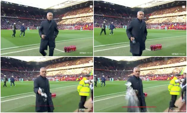 Mourinho có hành động không đẹp trước trận Newcastle - Bóng Đá