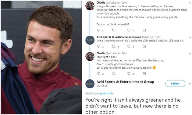 Tại sao Aaron Ramsey phải rời Arsenal? - Bóng Đá