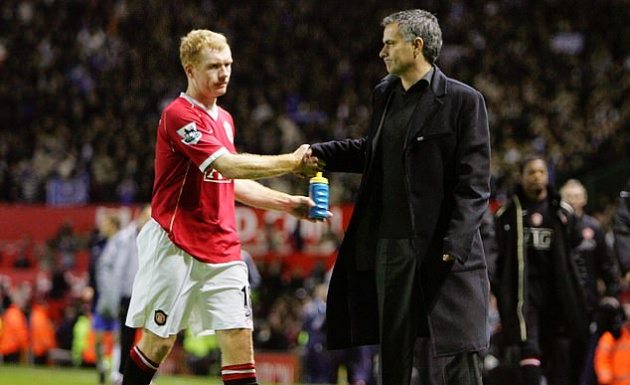 Paul Scholes is Jose Mourinho's worst nightmare - Bóng Đá