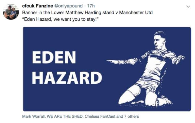 Chelsea và Hazard đã tìm ra 'người hâm mộ của năm' - Bóng Đá