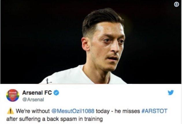 Emery gây sốc với phát biểu về Mesut Ozil sau trận thắng Tottenham - Bóng Đá