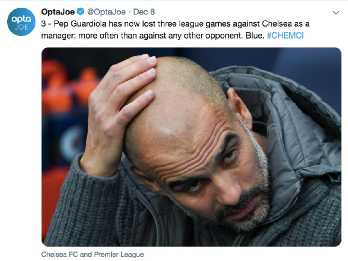 Không nghi ngờ! Chelsea luôn là niềm đau của Pep Guardiola - Bóng Đá