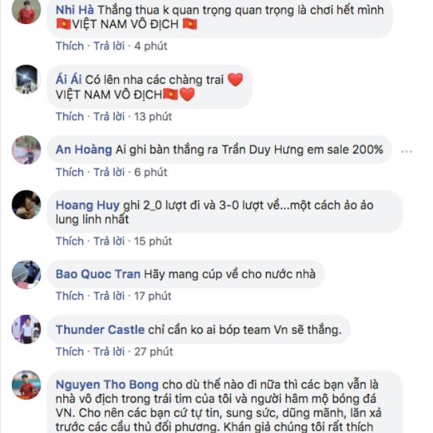 Cư dân mạng nói gì với ĐT Việt Nam trước trận CK AFF Cup? - Bóng Đá