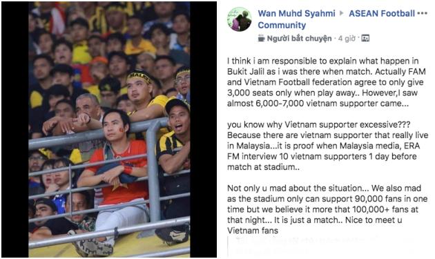 Nóng! Fan Malaysia tiếp tục công kích mạnh mẽ CĐV Việt Nam trên MXH - Bóng Đá