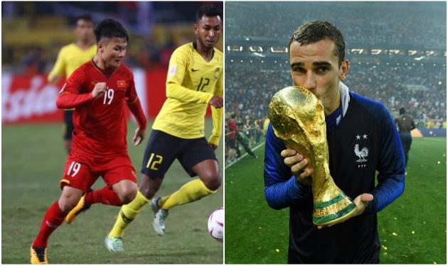 Chuyên gia ví cầu thủ của Việt Nam giống với Antoine Griezmann - Bóng Đá