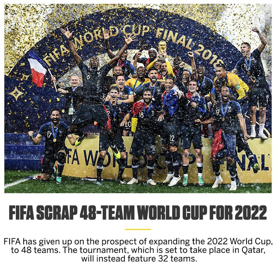 Tin đặc biệt! Xác định số lượng đội tuyển tham dự World Cup 2022 - Bóng Đá