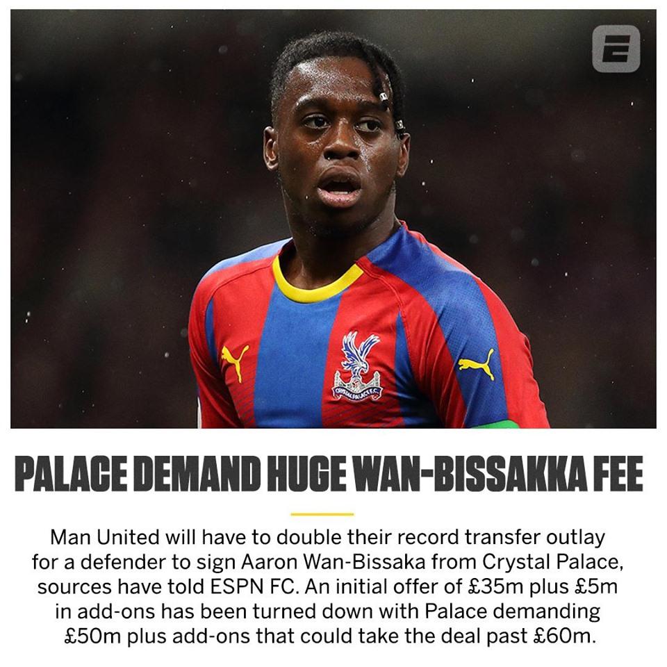 Lộ mức phí khó tin Man Utd phải trả để sở hữu Wan-Bissaka - Bóng Đá