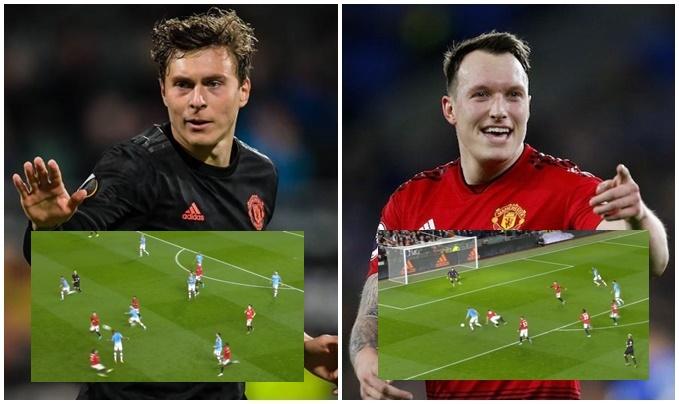 Man City đâu cần tiền đạo, Jones và Lindelof đã giúp họ hủy diệt Man Utd - Bóng Đá