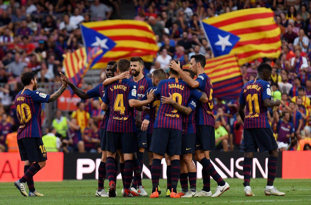 Valverde, đừng vui quá, Barca còn Champions League - Bóng Đá