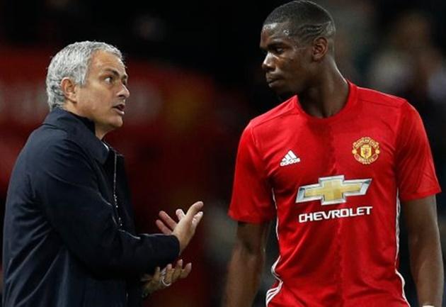 'Bất hòa giữa Mourinho và Pogba đã bị phóng đại' - Bóng Đá