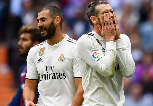Hàng công 4 trận không ghi bàn, Real thoi thóp trên sân nhà - Bóng Đá