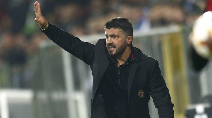 Thất bại đầu tiên tại Europa League, Gattuso chỉ trích học trò - Bóng Đá
