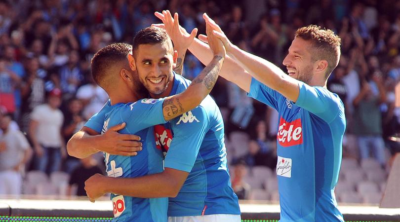 Mertens tâng bốc đồng đội trước thềm đại chiến với Lazio - Bóng Đá