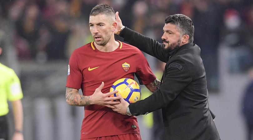 Thắng Roma, Gattuso vẫn nặng lo - Bóng Đá