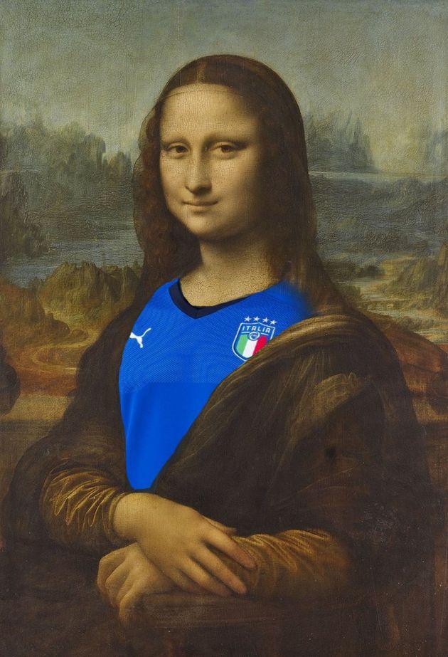 Té ngửa với nàng Mona Lisa phiên bản Les Bleus - Bóng Đá