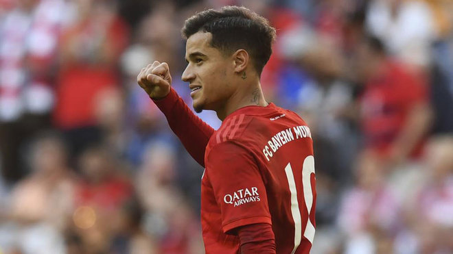 Coutinho becomes fifth ever player to score in Europe's top four leagues - Bóng Đá
