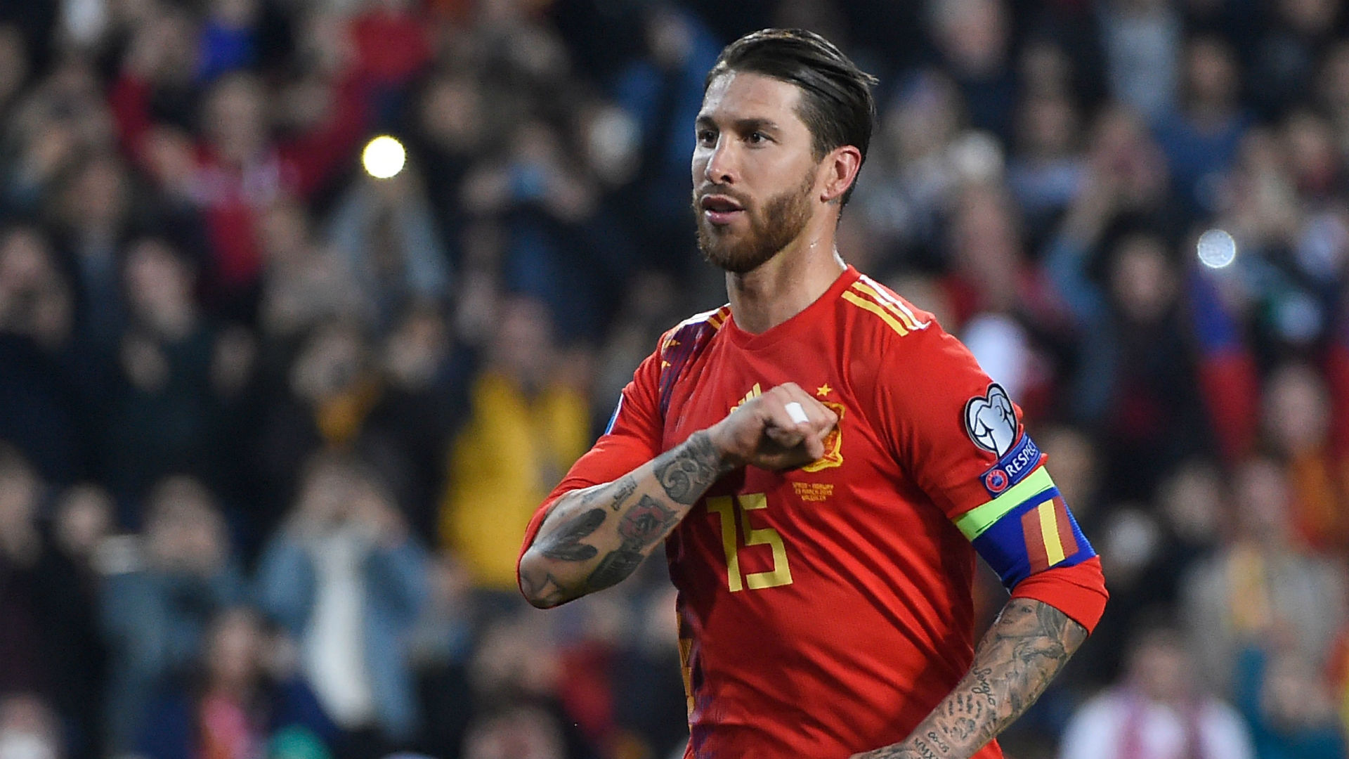 Real Madrid: Fans praise Sergio Ramos after breaking Spain's all-time appearance record - Bóng Đá