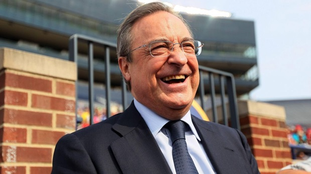 Florentino Perez's joke: I don't know who Pogba is - Bóng Đá