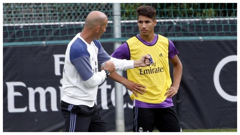 Achraf's value has increased twelvefold since leaving Real Madrid - Bóng Đá