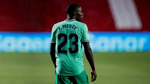 Ferland Mendy will win the title in his very first season with the club! Even Ramos, Benzema and Modric haven't achieved this feat. - Bóng Đá