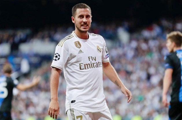Real Madrid  Hazard must do more right from the start - Bóng Đá
