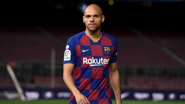 Braithwaite: I see myself at Barcelona for a long time - Bóng Đá