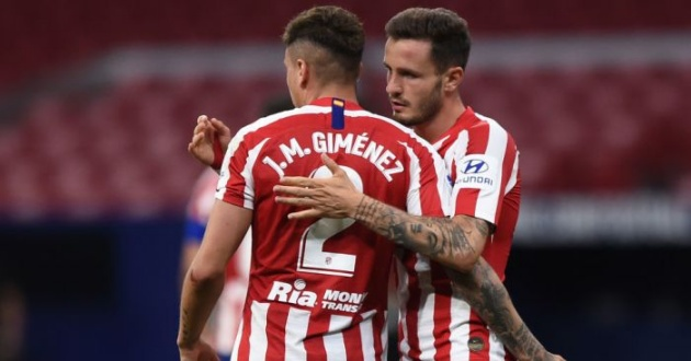 Manchester City have made an offer of 70 million euros for Atletico Madrid centre-back Jose Maria Gimenez, say 90min Atletico have turned it down. - Bóng Đá