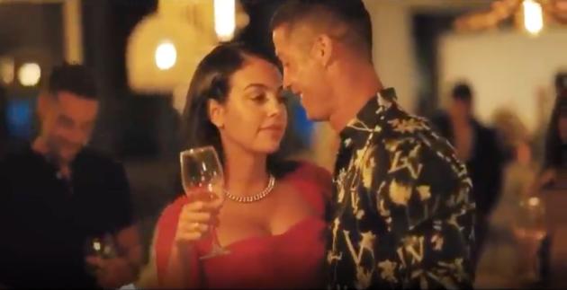Cristiano Ronaldo and Georgina celebrate their love with a wedding-like video - Bóng Đá