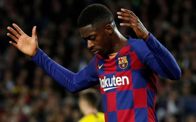 Juventus and Barcelona are interested in a swap deal that see Dembele head to Turin and Douglas Costa go the other way - Bóng Đá