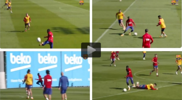 This is the Dembele that Barcelona fans want to see - Bóng Đá