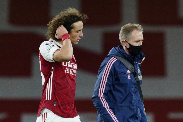 Arsenal face nervous wait over David Luiz as defensive injuries mount - Bóng Đá