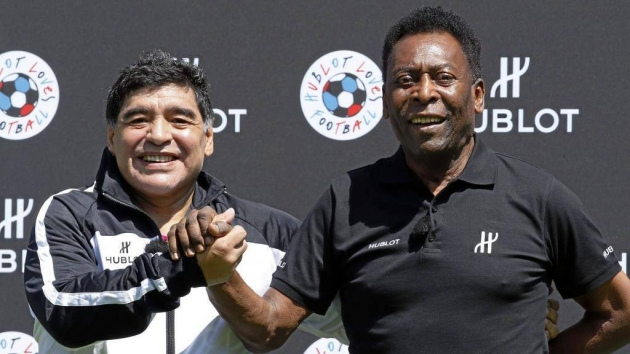 Pele's birthday message for Maradona: I will always applaud you - Bóng Đá