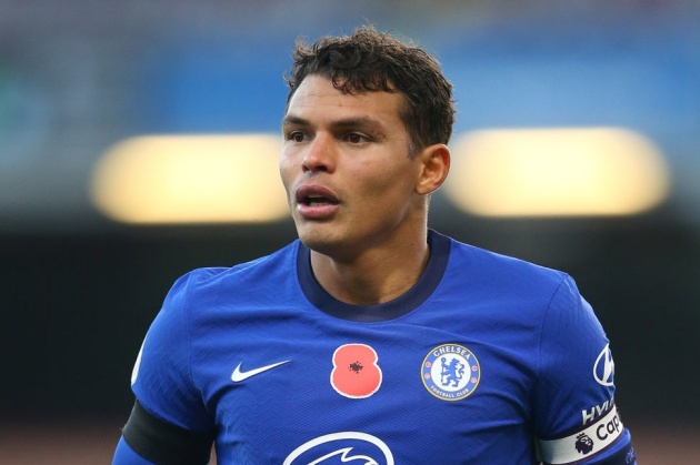 Thiago Silva says he hopes to renew his Chelsea contract - Bóng Đá