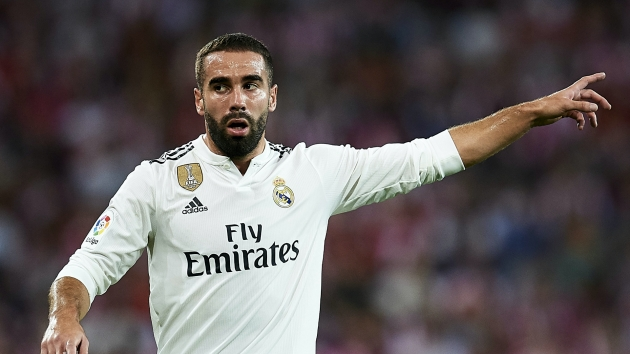 Carvajal trains to the full with Real Madrid first team - Bóng Đá