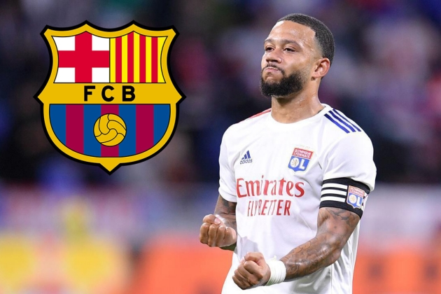 """Memphis Depay: """"Who wouldn't like to play for Barcelona?"""